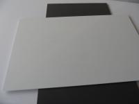 1 PVC Platte 495x495x0.5mm weiß