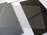 1 PVC Platte 200x450x1mm transparent